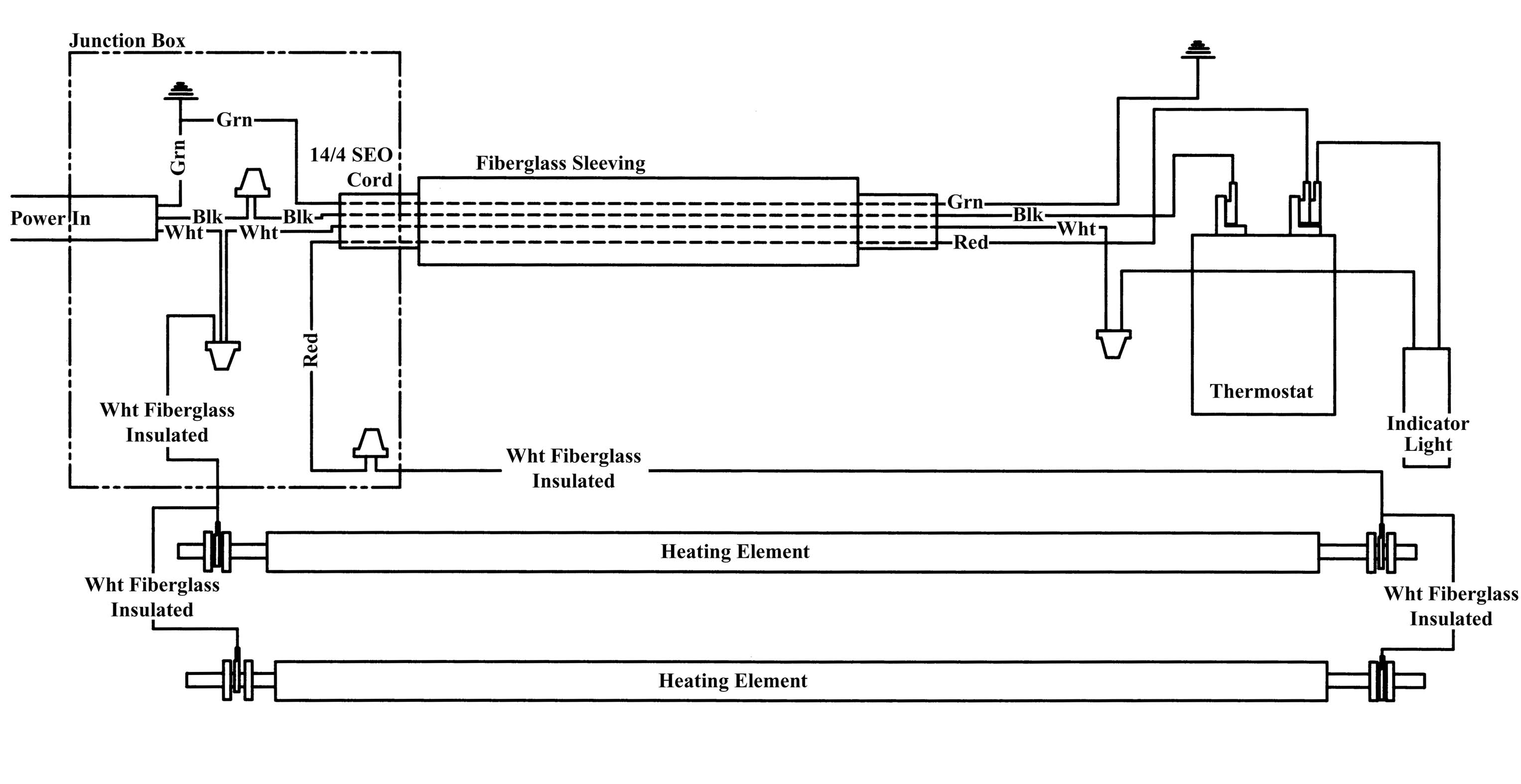 Heating Element Wiring Diagram from www.dryrod.com